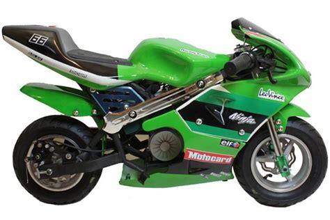 Electric Mini Moto by Electric Mini Moto 24v 300w Pocket Bike Green Ride On Toys