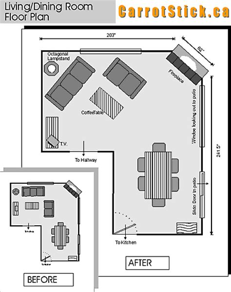 room design floor plan interior design remodeling living dining rooms and