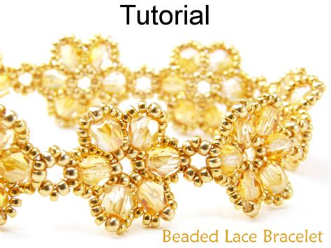 flower bead bracelet pattern beading tutorial pattern bracelet beadweaving beaded