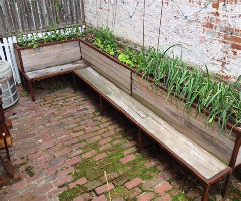 backyard planter ideas backyard planter and seating