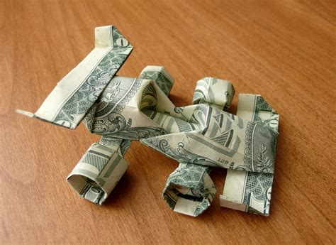 one dollar bill origami dollar bill origami race car by craigfoldsfives on deviantart