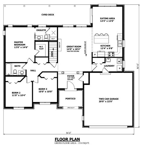 canadian bungalow floor plans reddeerfloor 875 899 canadian house floor plan interesting