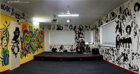 Music Wall Murals wall mural music club pune shraddhatrivedi