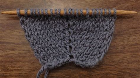increase in knitting how to knit the make two increase m2 new stitch