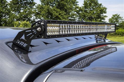 led bar light for trucks a r e truck caps partners with rigid led lights to shine