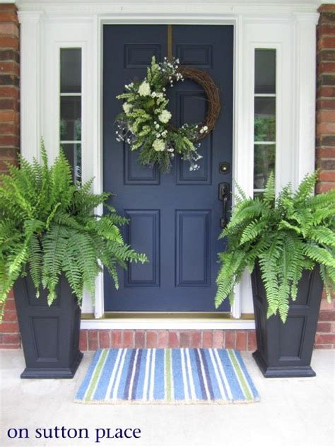 navy blue front doors front door navy blue door for the home