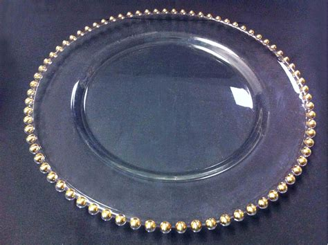 gold beaded chargers touch of gold beaded charger we rent atlanta