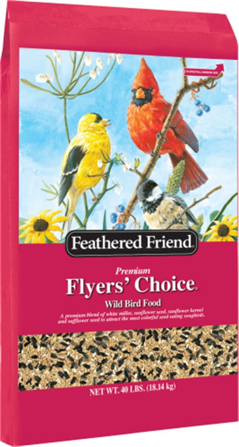 feathered friend flyers choice 40lb ellington agway