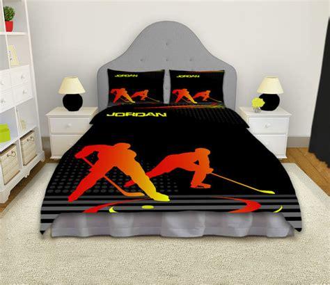 hockey comforter set hockey comforter hockey bedding hockey by eloquentinnovations