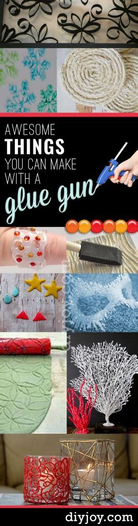 glue crafts for unbelievably cool things you can make with a glue gun
