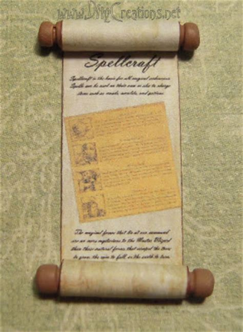 scroll craft for dollhouse mini s by dfly creations scrolls a book stand