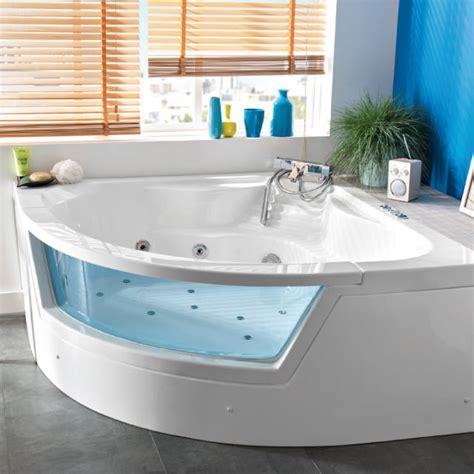baignoire d angle hydromassante castorama