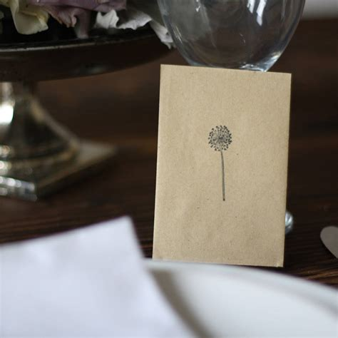 dandelion rubber st dandelion st and ink pad by the wedding of my dreams