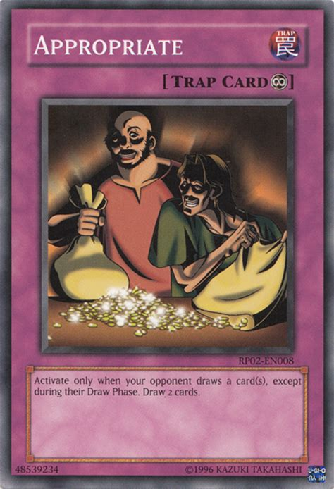 yugioh cards that make your opponent draw appropriate yu gi oh