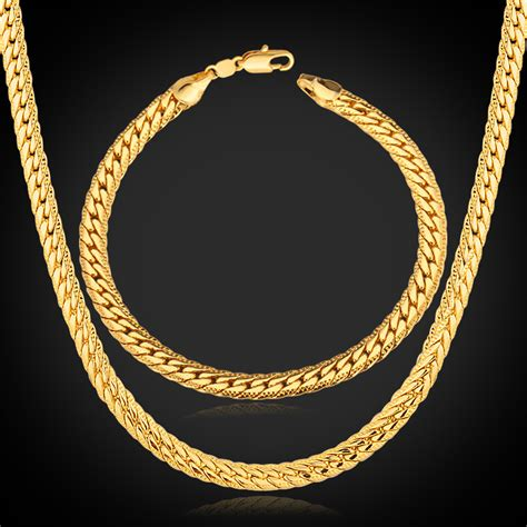 bracelet chains for jewelry aliexpress buy jewelry sets gold chain necklace