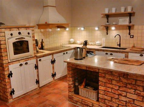 cocinas de co rusticas cocinas con ladrillo 22 ideas espectaculares