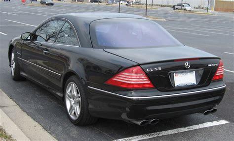 2003 Mercedes Cl55 Amg by файл 2003 Mercedes Cl55 Amg Rear Jpg википедия