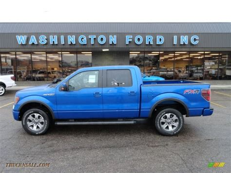 2012 Ford F150 Fx4 by 2012 Ford F150 Fx4 Supercrew 4x4 In Blue Metallic