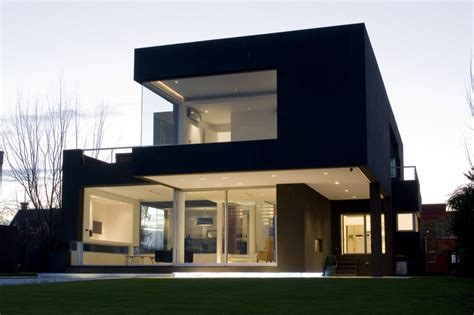 architect home design the black house by andres remy arquitectos architecture design