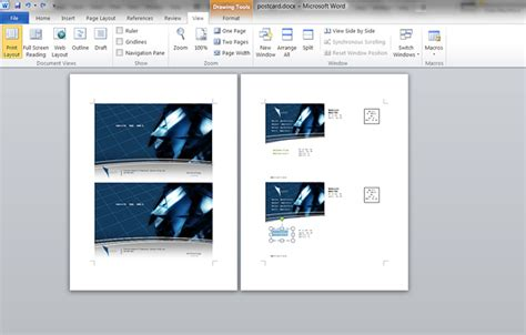 how to make post cards how to make a postcard in microsoft word printaholic
