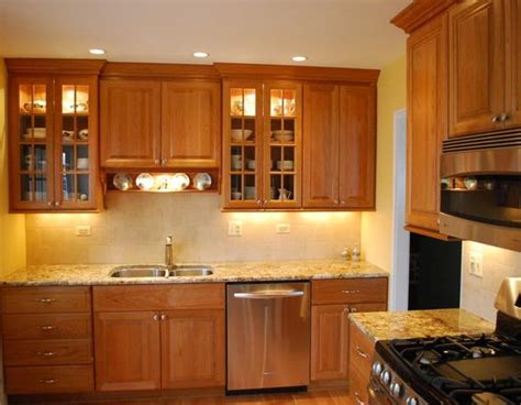 kitchen cabinets light granite light cherry cabinets what color countertops well