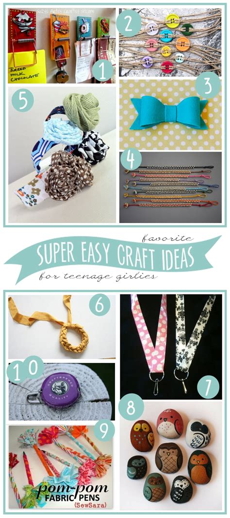 easy craft projects for teenagers my 3 monsters 10 easy craft ideas to make with