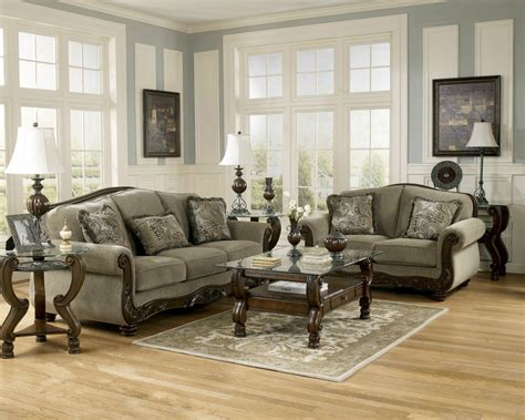 furniture living room set furniture martinsburg meadow living room set sofa