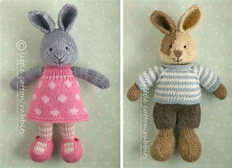 free knitting patterns for rabbits bunny knitting patterns cotton rabbits bloglovin