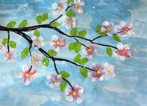make flower painting creativemoontempera painted flowers creativemoon