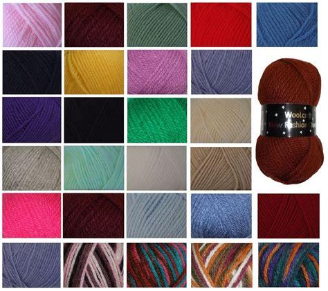 Woolcraft Wool New Fashion Chunky Wool Knitting Yarn 100g