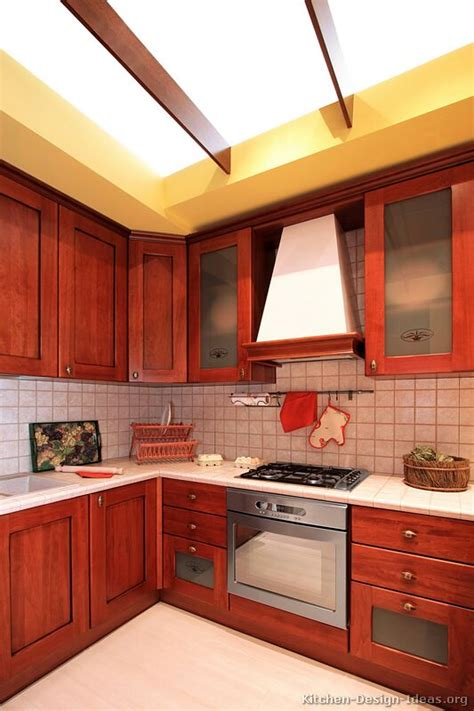 kitchen ideas for medium kitchens pictures of kitchens traditional medium wood cherry