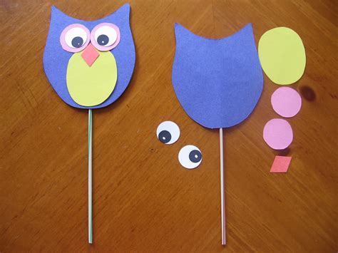 craft for easy free printable wildlife and owl crafts for preschool