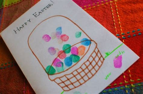 easy easter cards for toddlers to make craft easy easter card inner child