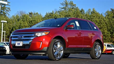2014 Ford Edge Limited by 2014 Ford Edge Limited What S New Review And Walkaround