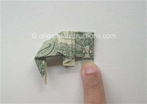 dollar bill elephant origami how to make origami origami elephant