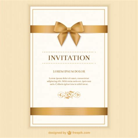 invitation card software free invitation vectors photos and psd files free