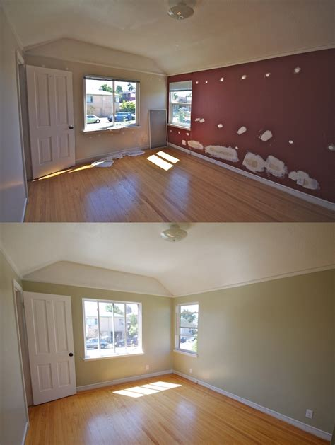 behr paint color koala front bedroom before and after paint is behr koala
