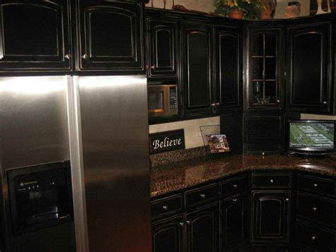 pics of kitchens with black cabinets kitchen tags black painted kitchen cabinets black