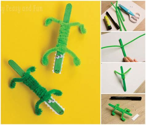 reptile crafts for 25 best ideas about crocodile craft on