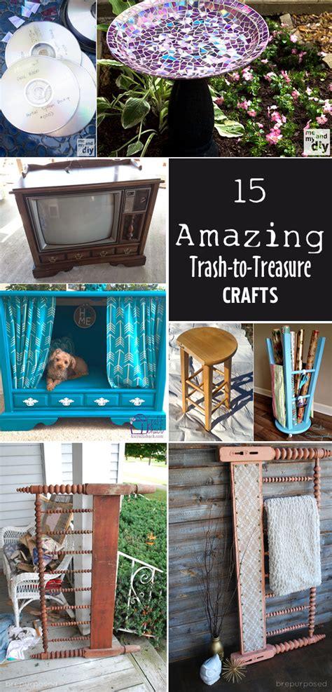 trash to treasure crafts for 15 amazing trash to treasure crafts