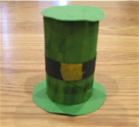 leprechaun toilet paper roll craft preschool crafts for st patick s day toilet roll