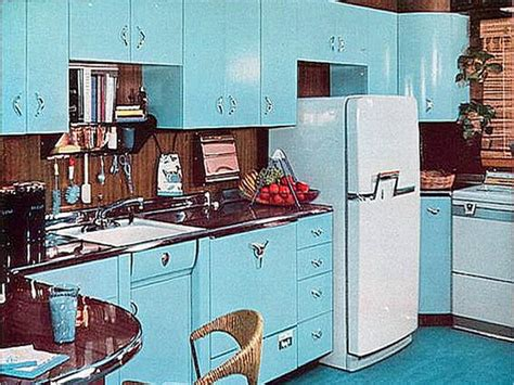 1950s kitchen design how home decor has drastically changed the decades