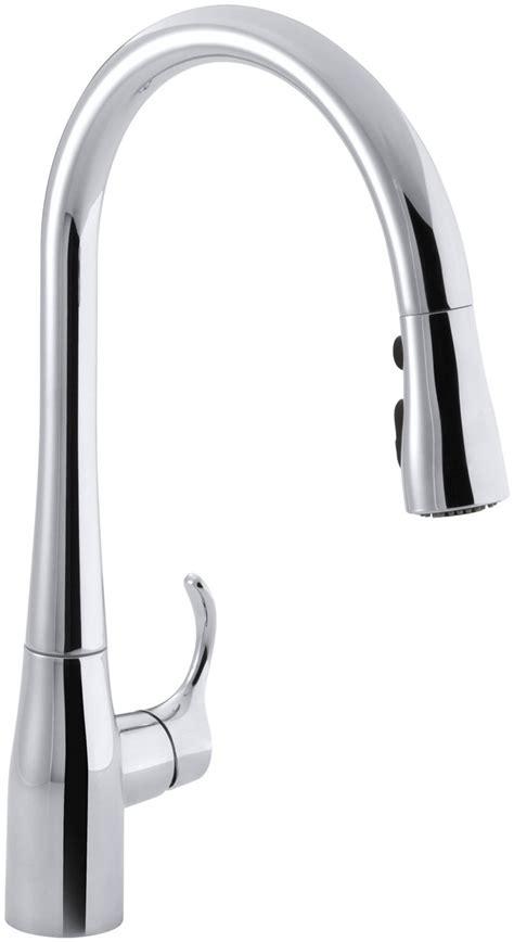 one touch kitchen faucet one touch kitchen faucets kohler kohler faucet
