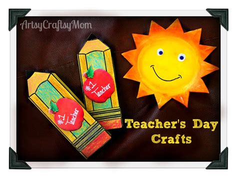 teachers day crafts for teachers day pencil shaped card free printable template