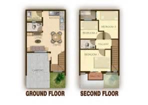 house floor plan ideas ideas of 2 storey modern house designs and floor plans