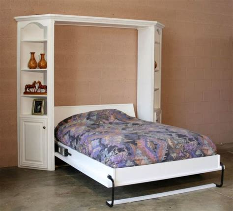 murphy bed with shelves murphy bed unit with shelves attached