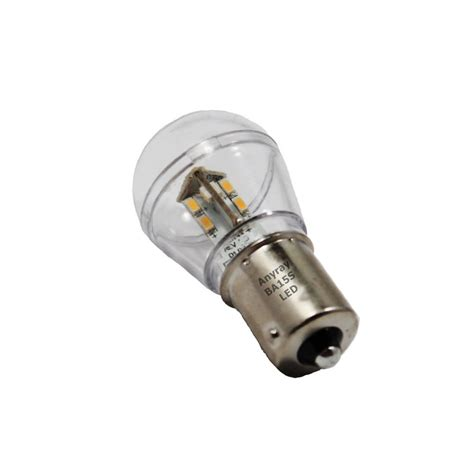 single led light bulb ba15s bayonet base single contact 15 smd 3528 led light