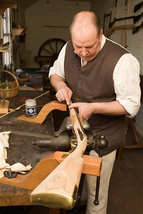 virginia woodworking gunsmith and founder the colonial williamsburg official