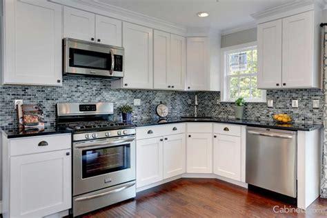 white shaker kitchen cabinets for modern home home contemporary kitchen shaker ii maple bright white modern