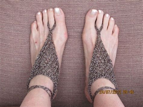 knitted barefoot sandals sandals knitted barefoot sandals